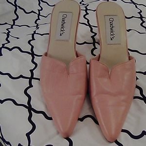 🌟3 for &15🌟Chadwick's Pink Leather Heels